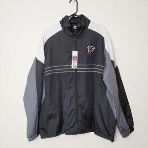NWT, NFL Atlanta Falcons Windbreaker. Sz XL
